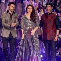 Kareena Kapoor for Manish Malhotra at 2014 LFW Winter-Festive