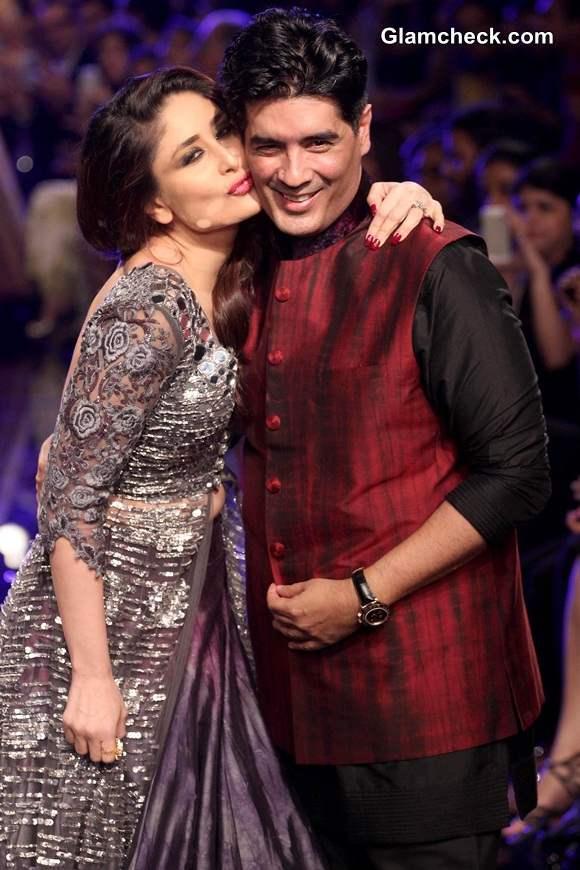 Kareena Kapoor for Manish Malhotra at LFW Winter-Festive 2014