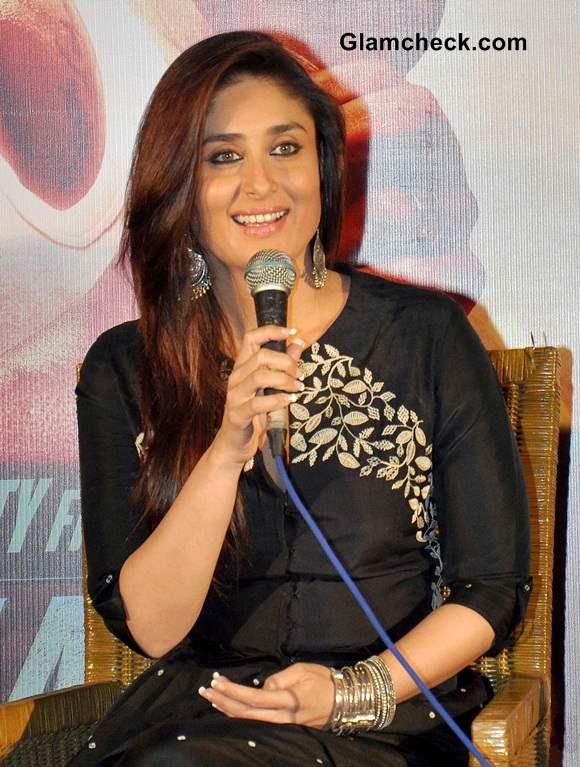 Kareena Kapoor in Myoho Fusion Look Singham Returns Kolkatta Promo