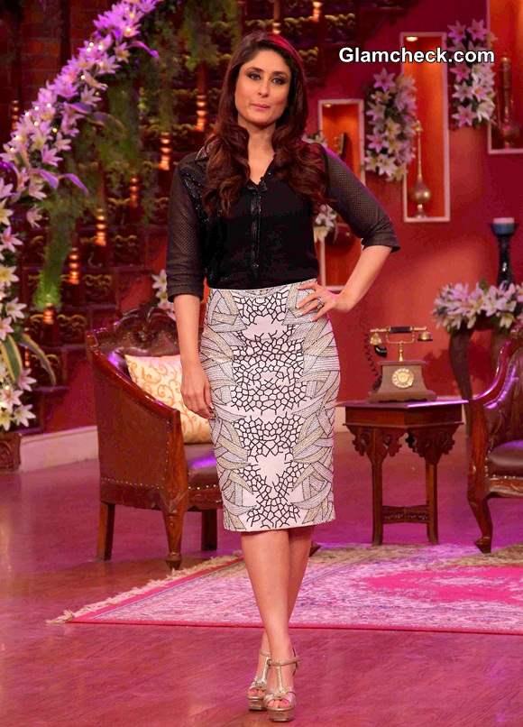 Kareena Kapoor on Comedy Nights with Kapil 2014