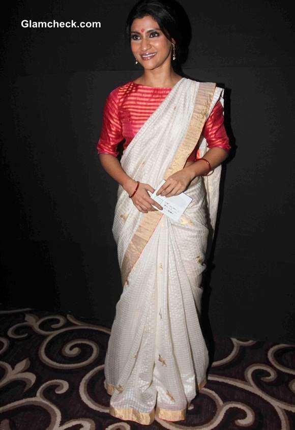 Konkana Sen 2014 LFW Winter Festive