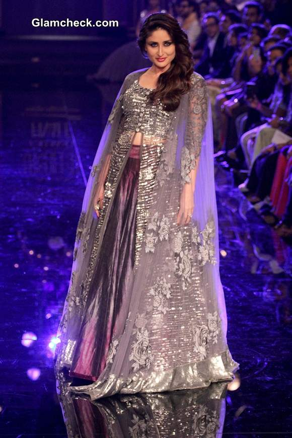 LFW Winter-Festive 2014 Kareena Kapoor for Manish Malhotra