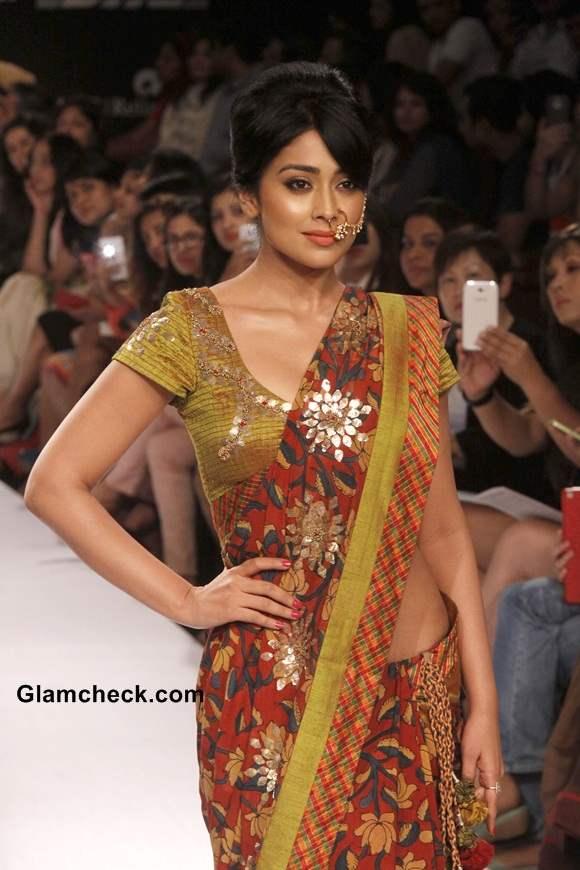 Lakme Fashion Week Winter-Festive 2014 Shriya Saran