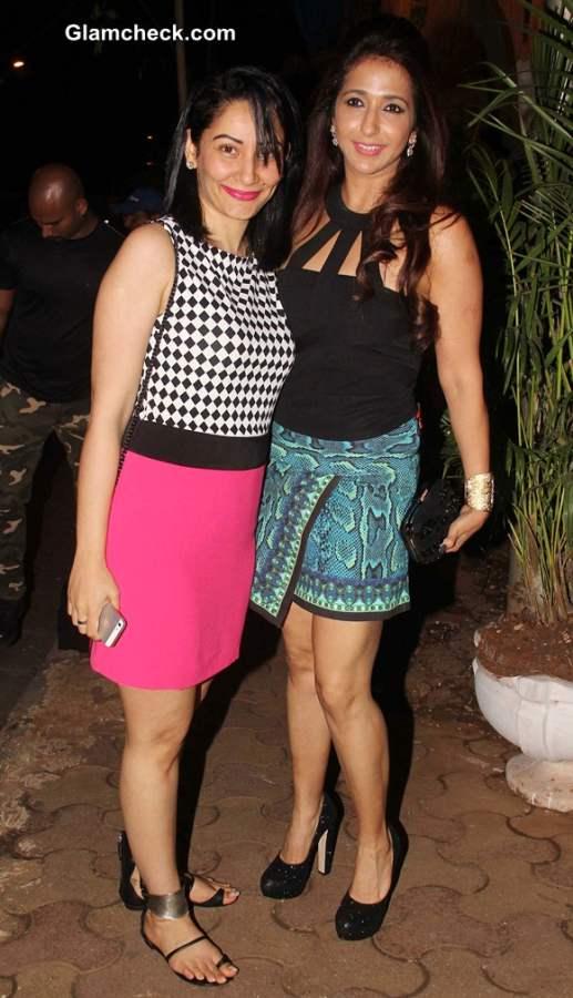 Manyata Dutt and Krishika Lulla