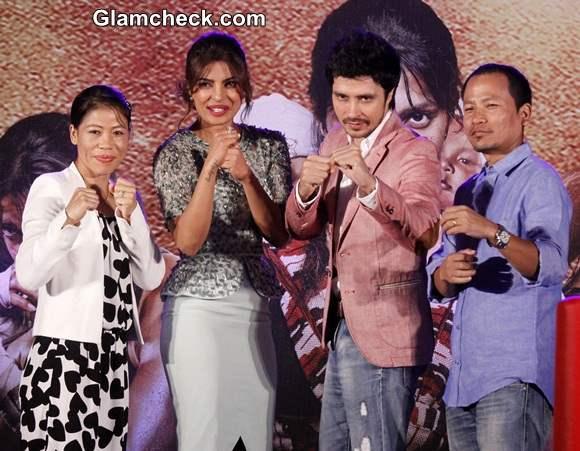 Music launch of film Mary Kom 2014