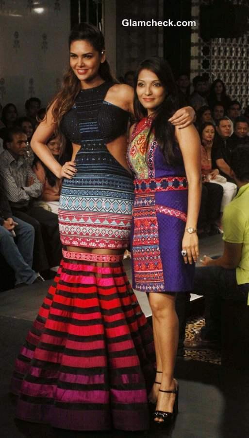 Neha Agarwal at LFW Winter-Festive 2014