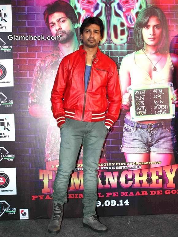 Nikhil Dwivedi inTamanchey Movie