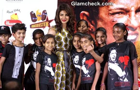 Priyanka Chopra 2014 during Mary Kom Promotions Pics