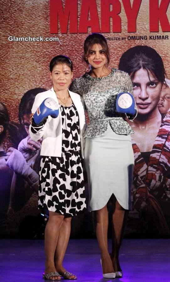Priyanka Chopra Music launch of film Mary Kom 2014