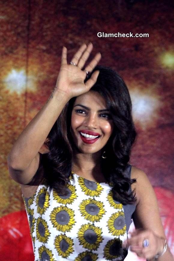 Priyanka Chopra Promotes Mary Kom at IIM Ahmedabad