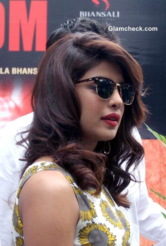 Priyanka Chopra Promotes Mary Kom movie at IIM Ahmedabad
