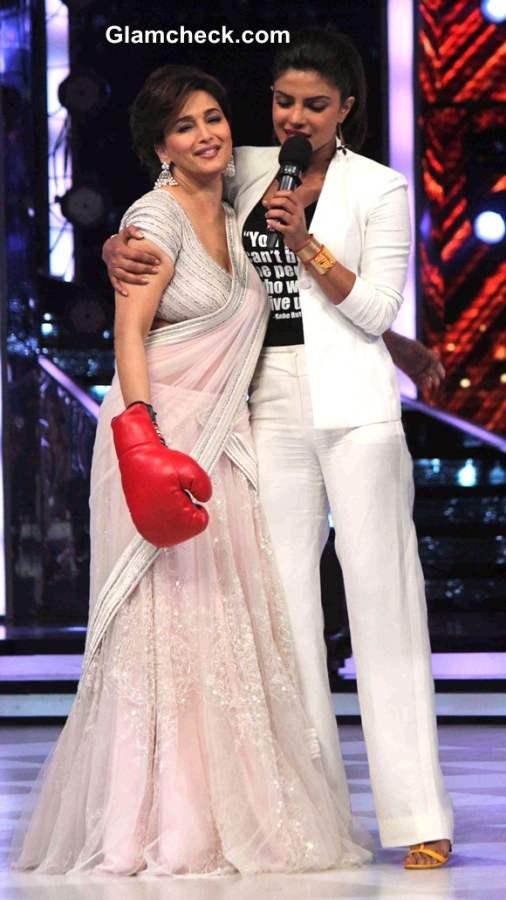 Priyanka Chopra and Madhuri Dixit Jhalak Dikhlaa Jaa 7