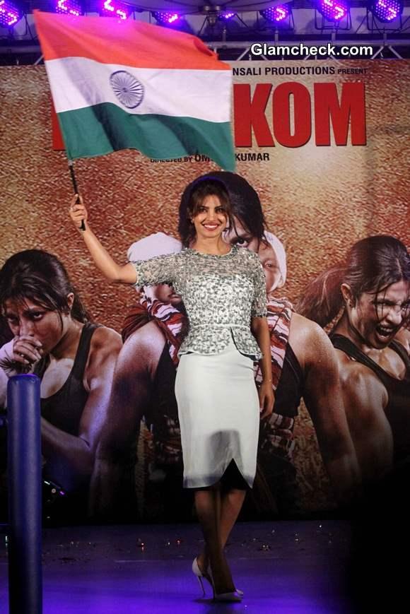 Priyanka Chopra at Music launch of film Mary Kom 2014