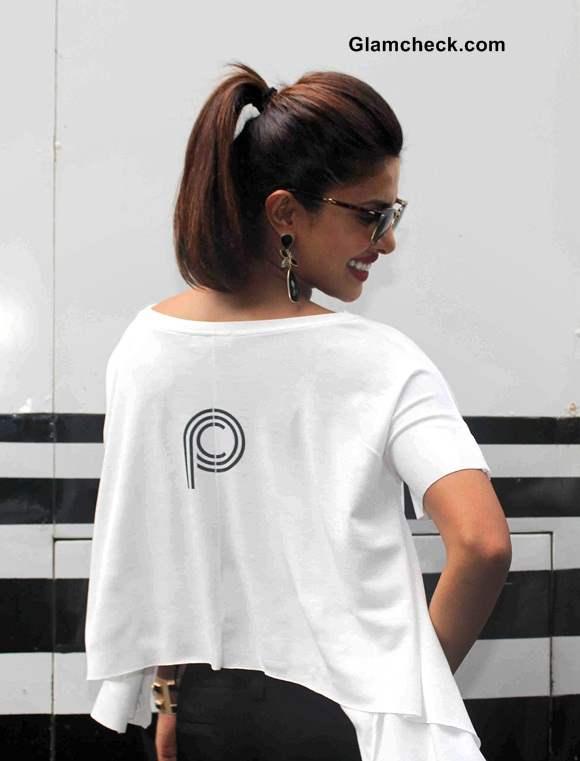 Priyanka Chopra in a Crop Top 2014 pics