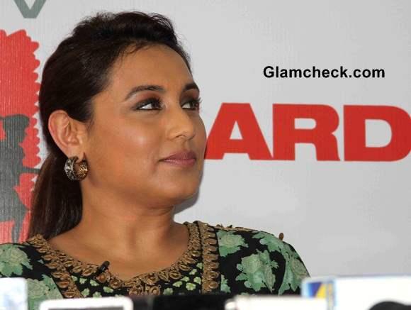Rani Mukerji Mardaani Promotions
