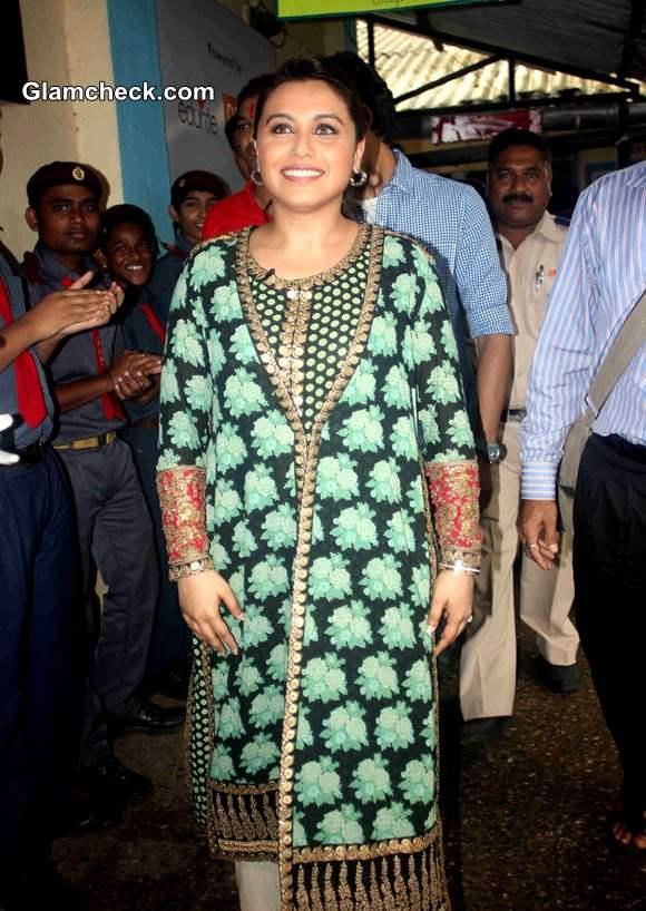 Rani Mukerji Promotes Mardaani