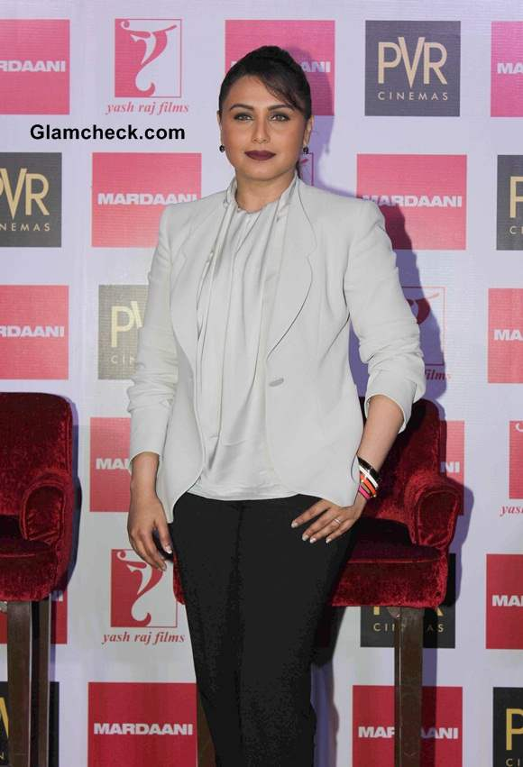 Rani Mukerji at Mardaani Song Launch