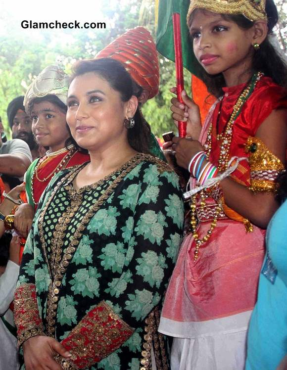 Rani Mukerji at Support My School Campaign Pictures