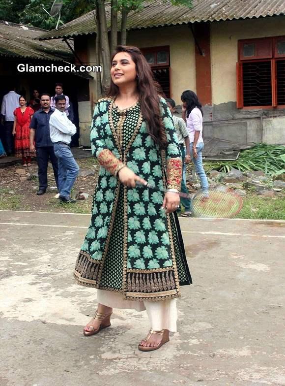 Rani Mukerji at Support My School Campaign