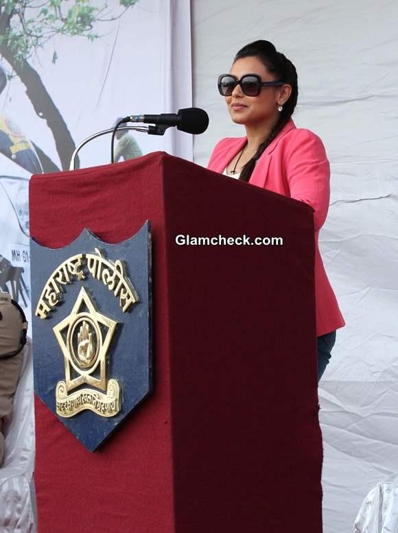 Rani Mukherji Supports Women Beat Marshalls