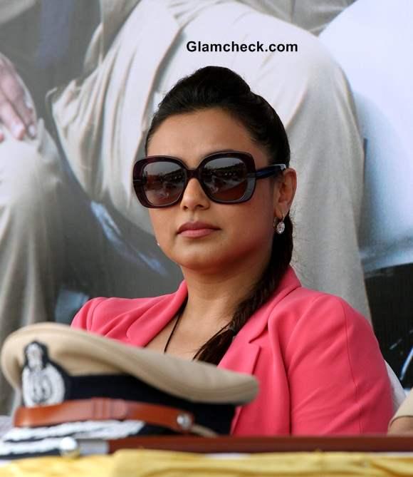 Rani Mukherji promotes Mardaani