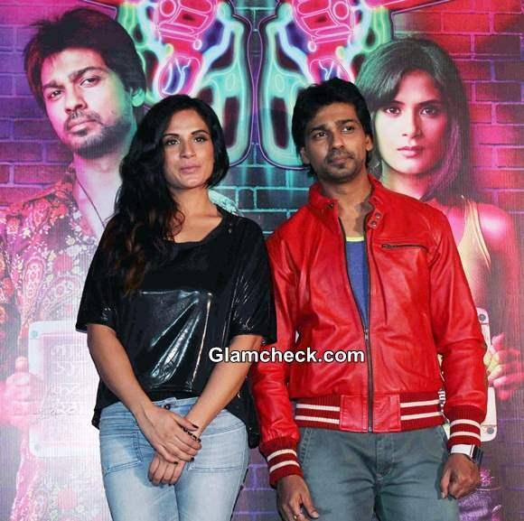 Richa Chadda and Nikhil Dwivedi Launch Tamanchey Trailer