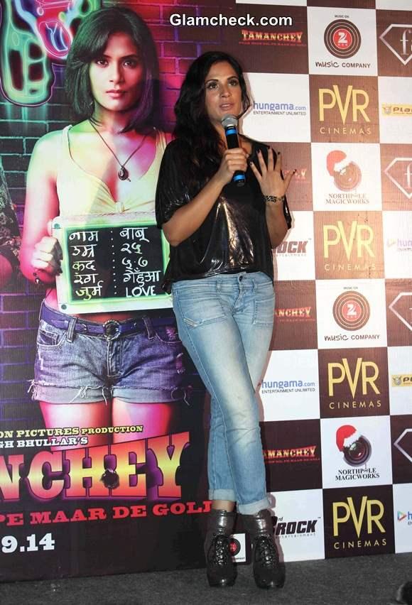 Richa Chadda in movie Tamanchey