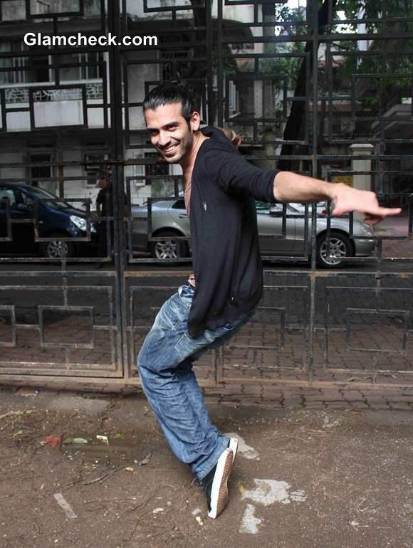 Saahil Prem Promotes Mad About Dance