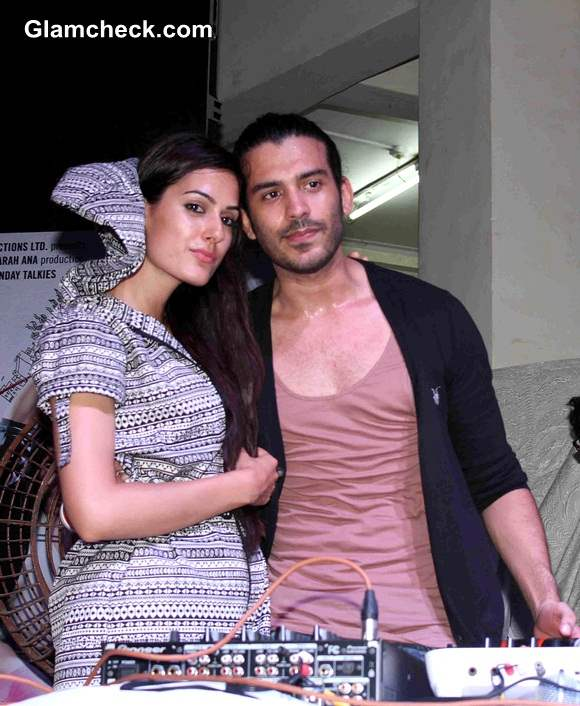 Saahil Prem and Amrit Maghera Promote Mad About Dance