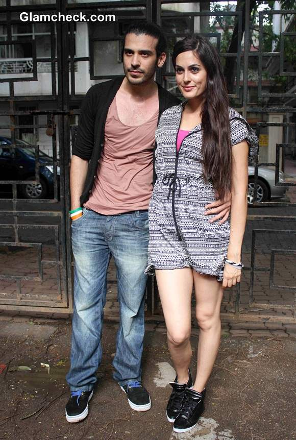 Saahil Prem and Amrit Maghera in Mad About Dance