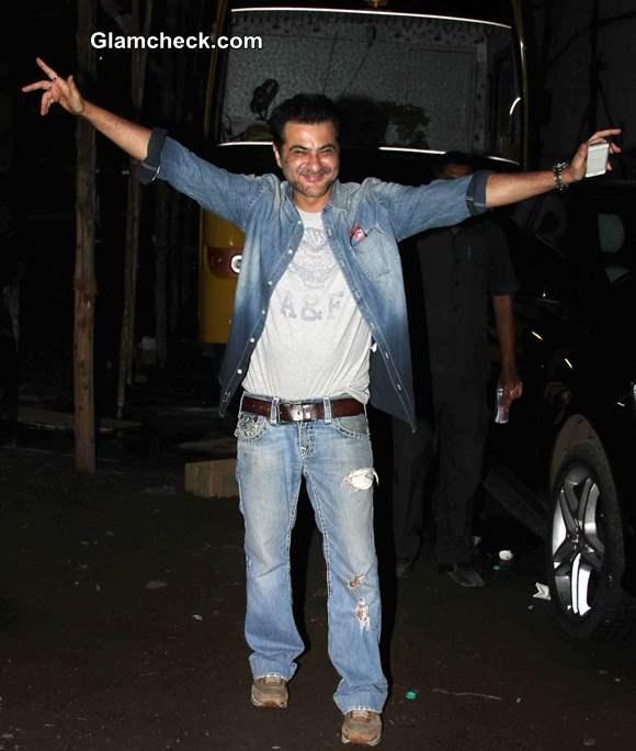 Sanjay Kapoor at Tevar Wrap Up Party