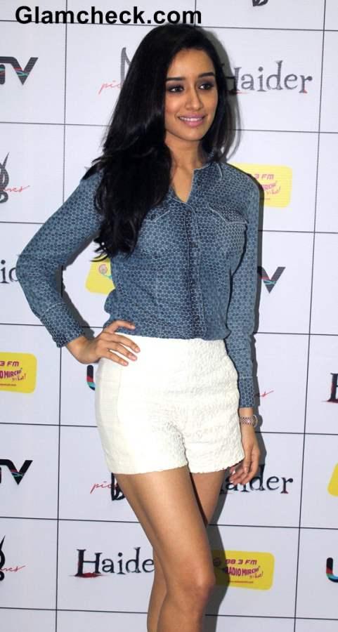 Shraddha Kapoor 2014 at the music premier Haider