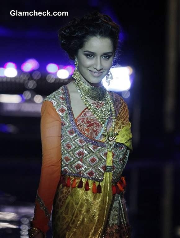 Shraddha Kapoor at India Bridal Fashion Week 2014