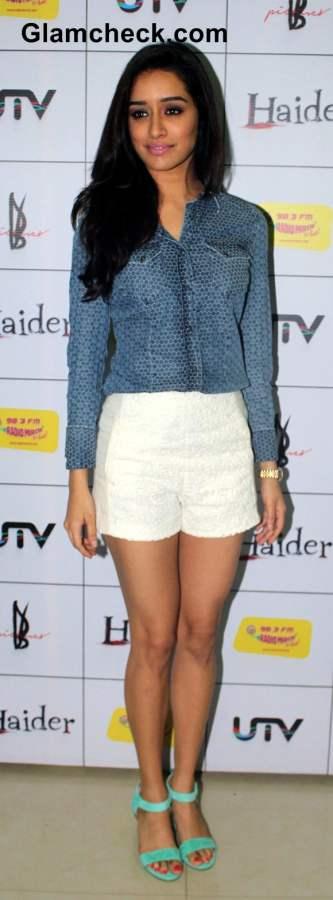 Shraddha Kapoor at the music premier Haider