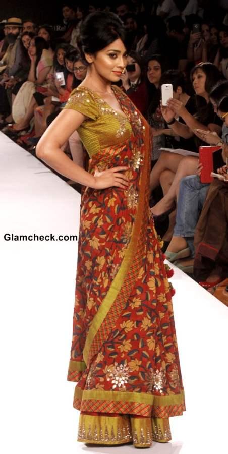 Shriya Saran at Lakme Fashion Week Winter-Festive 2014