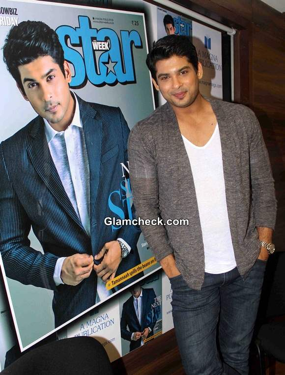Sidharth Shukla On Latest Cover of Star Week Magazine