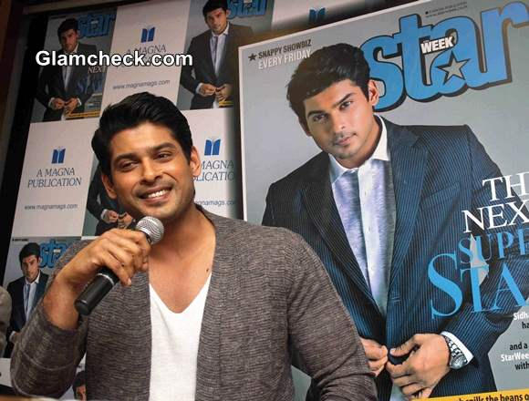Sidharth Shukla On the Latest Cover of Star Week Magazine