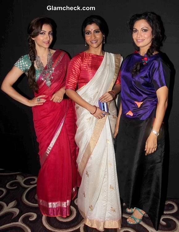 Soha Ali Khan, Konkana Sen and Maria Goretti