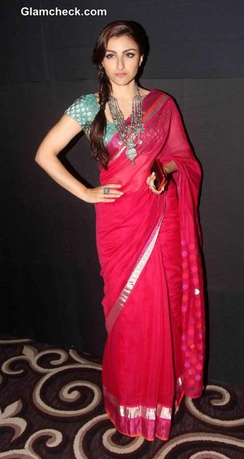 Soha Ali Khan at LFW Winter - Festive 2014