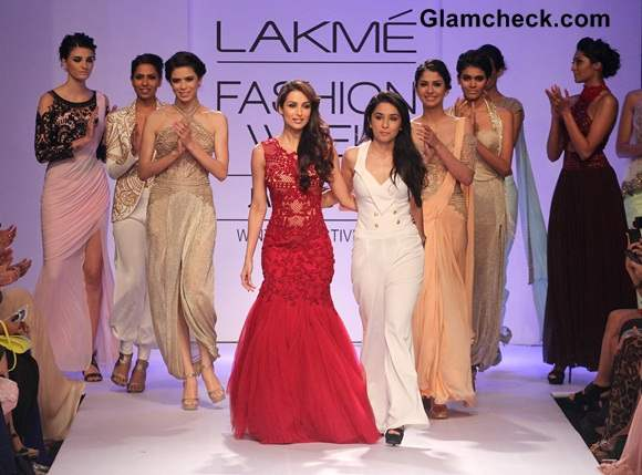 LFW Winter-Festive 2014 Malaika Arora Khan for Sonaakshi Raaj