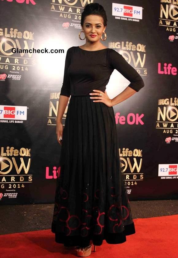 Surveen Chawla 2014 Big Life OK Now Awards