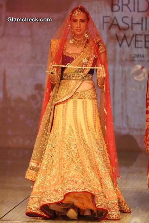 Tarun Tahiliani Collection BMW India Bridal Fashion Week 2014