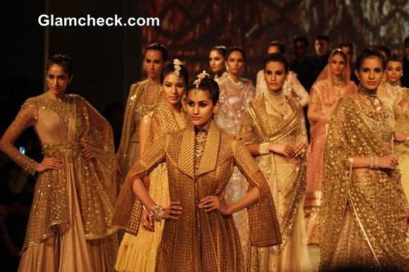 Tarun Tahiliani Collection at BMW India Bridal Fashion Week 2014