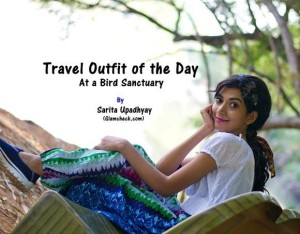 Travel Outfit of the Day ‐ At A Bird Sanctuary