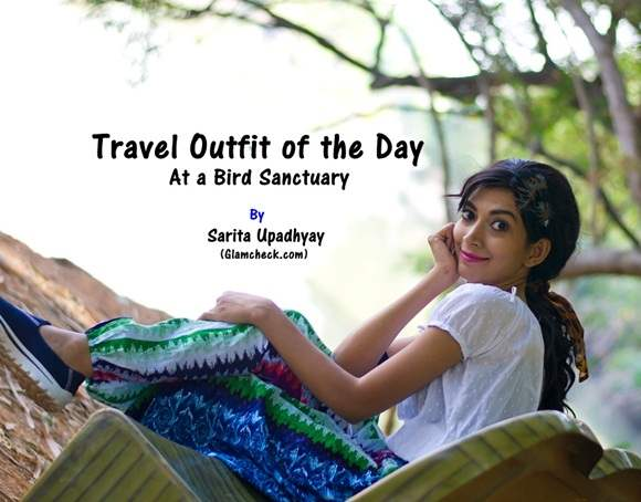 Indian Youtuber Fashion Channel - Travel Outfit