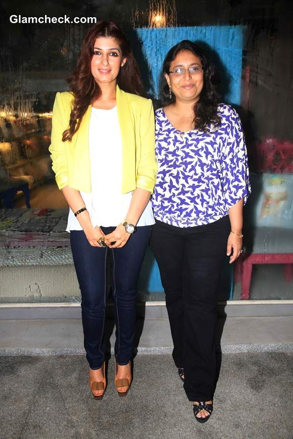 Twinkle Khanna Unveils Her Flower Power Collection at The White Window