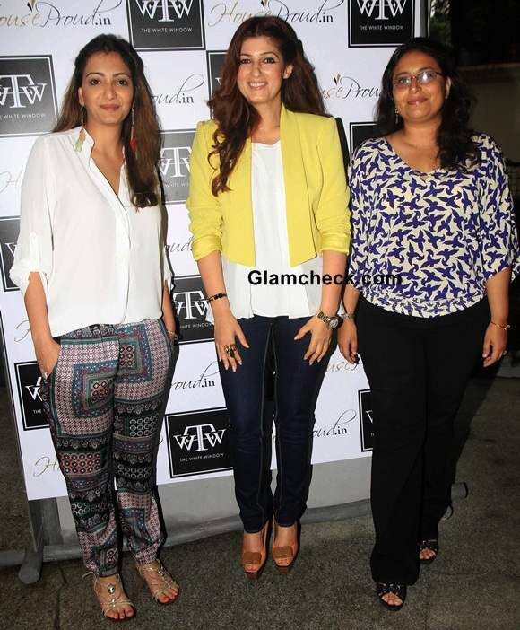 Twinkle Khanna Unveils Her Flower Power Collection