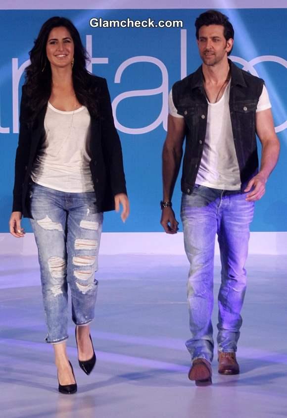 Bang on Style – Katrina and Hrithik at the Pantaloons Limited Edition Collection show