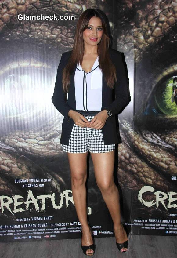 Bipasha Basu during media interaction of film Creature 3D