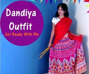 Dandiya Dance Night – Clothes, Makeup and Hairstyle